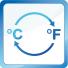 Odabir prikaza temperature